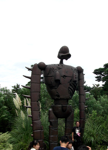 rusty iron man